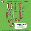 Programma UITfeest 15 sept in Castellum HW