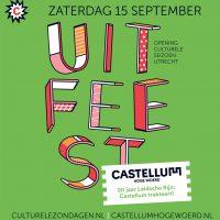 Programma UITfeest 15 sept in Castellum HW
