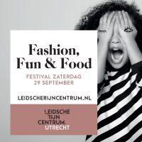 za 29 sept Fashion, Fun & Food in LRCentrum