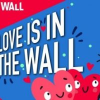 Love is in The Wall, zaterdag 10 februari