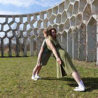 Zondag 27 mei, Dans neemt Máximapark over tijdens Zingende Beelden