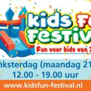 Kidsfun Festival, 21 mei, Máximapark