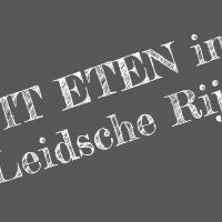 Heerlijk, gezellig, overal UIT ETEN (& drinken) in Leidsche Rijn
