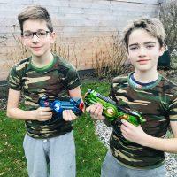 13 mrt   Lasergamen voor HB tieners!