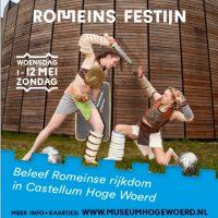 wo 1 t/m zo 12 mei   Romeins festijn Castellum Hoge Woerd