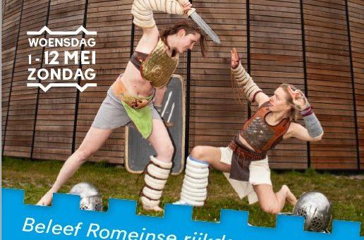 wo 1 t/m zo 12 mei | Romeins festijn Castellum Hoge Woerd