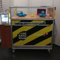 6 mrt t/m 10 apr | Reizend Laboratorium (7 – 12 jr)