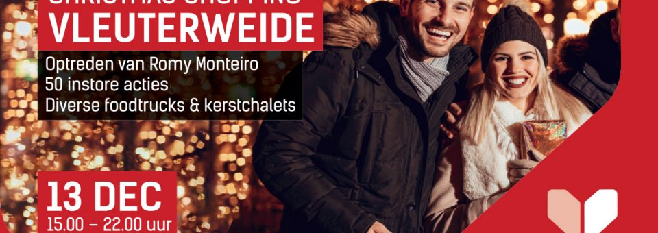 vr 13 dec | Christmas Shopping Vleuterweide