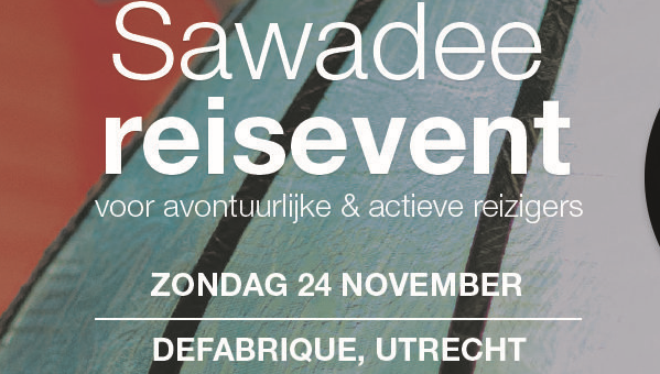 zo 24 nov | Sawadee Reisevent