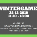 28 dec | Wintergames (14 t/m 21 jr)
